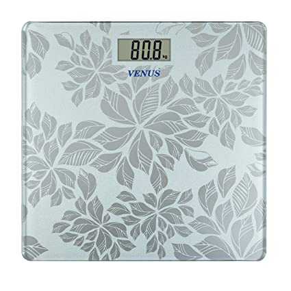 c91829e957 Venus 8MM Thick Tempered Glass Digital Weighing Scale  Amazon.in  Health    Personal Care