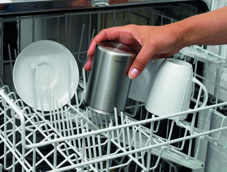 Brabantia 040552321 - Dispensador de cápsulas de café Nespresso, color gris metalizado: Amazon.es: Hogar