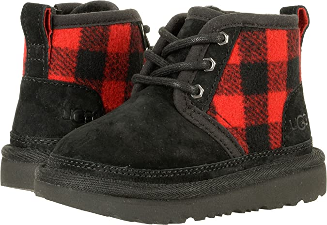 cd67b01a824 Amazon.com: UGG Kids Baby Boy's Neumel II Plaid (Toddler/Little Kid ...