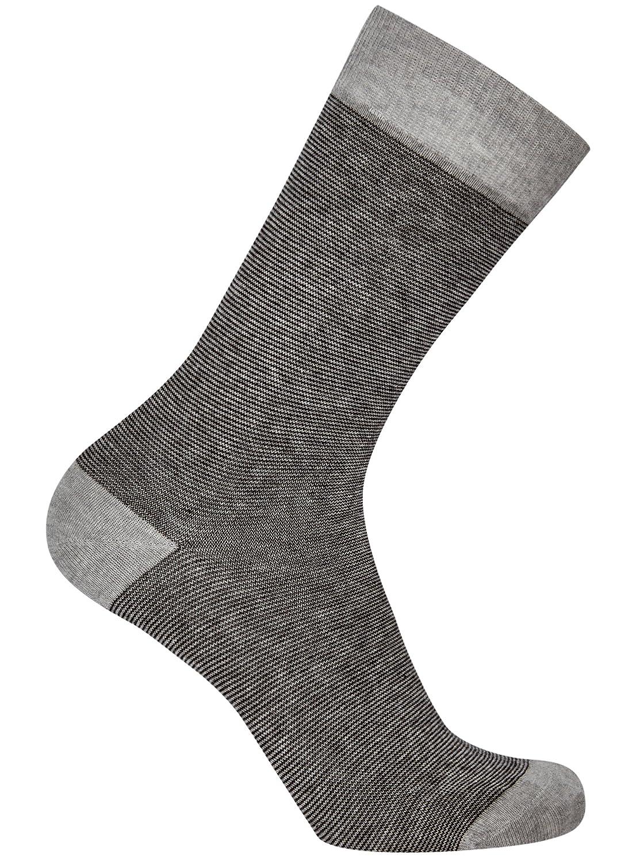 oodji Ultra Hombre Calcetines de Algod/ón Pack de 10