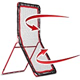 Rukket 4x7ft Baseball / Softball / Lacrosse Rebounder Pitchback Training Screen | Practice Pitching and Throwing