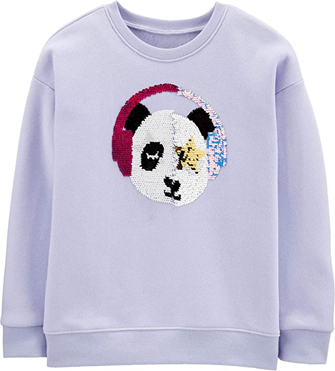 wudici Skateboard Pug Boys Girls Pullover Sweaters Crewneck Sweatshirts Clothes for 2-6 Years Old Children