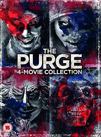 The Purge: 4-Movie Collection (DVD) [2018]: Amazon co uk: James