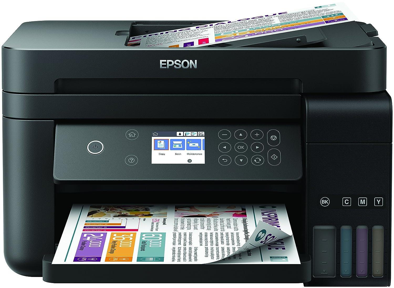 Epson EcoTank ET-3750 - Impresora, color negro C11CG20401