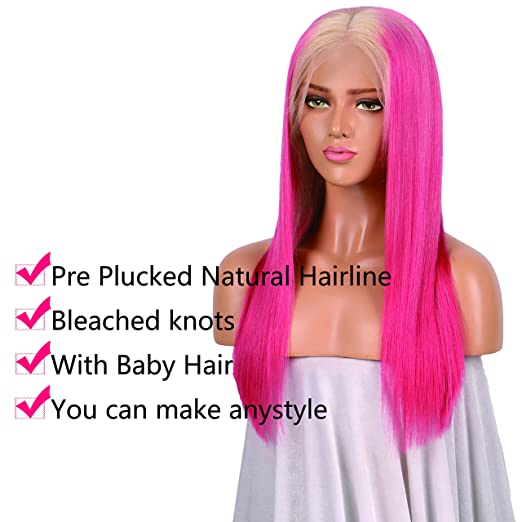 Amazon Huber Ombre Raw Virgin Hair Full Lace Human Hair Wigs