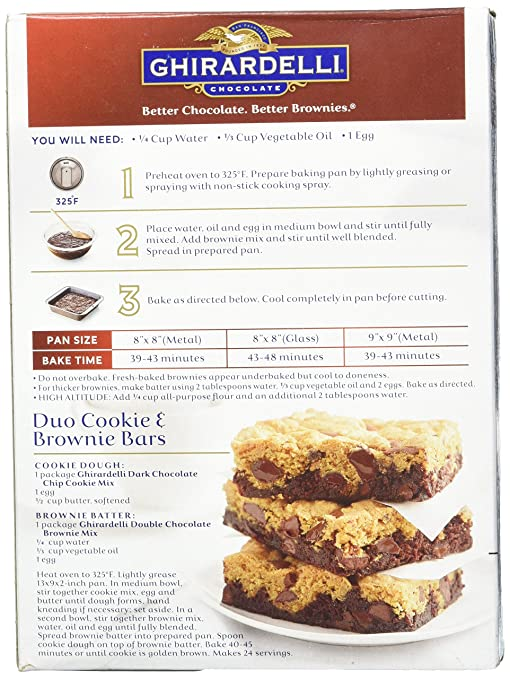 Ghirardelli Chocolate Chip Cake Recipe