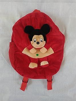 SRT Fur 5 Liters Red & Cream Childrens Backpack