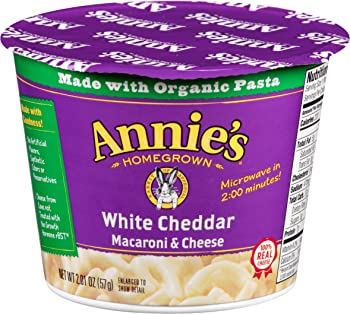 12-Pack Annies Microwavable White Cheddar