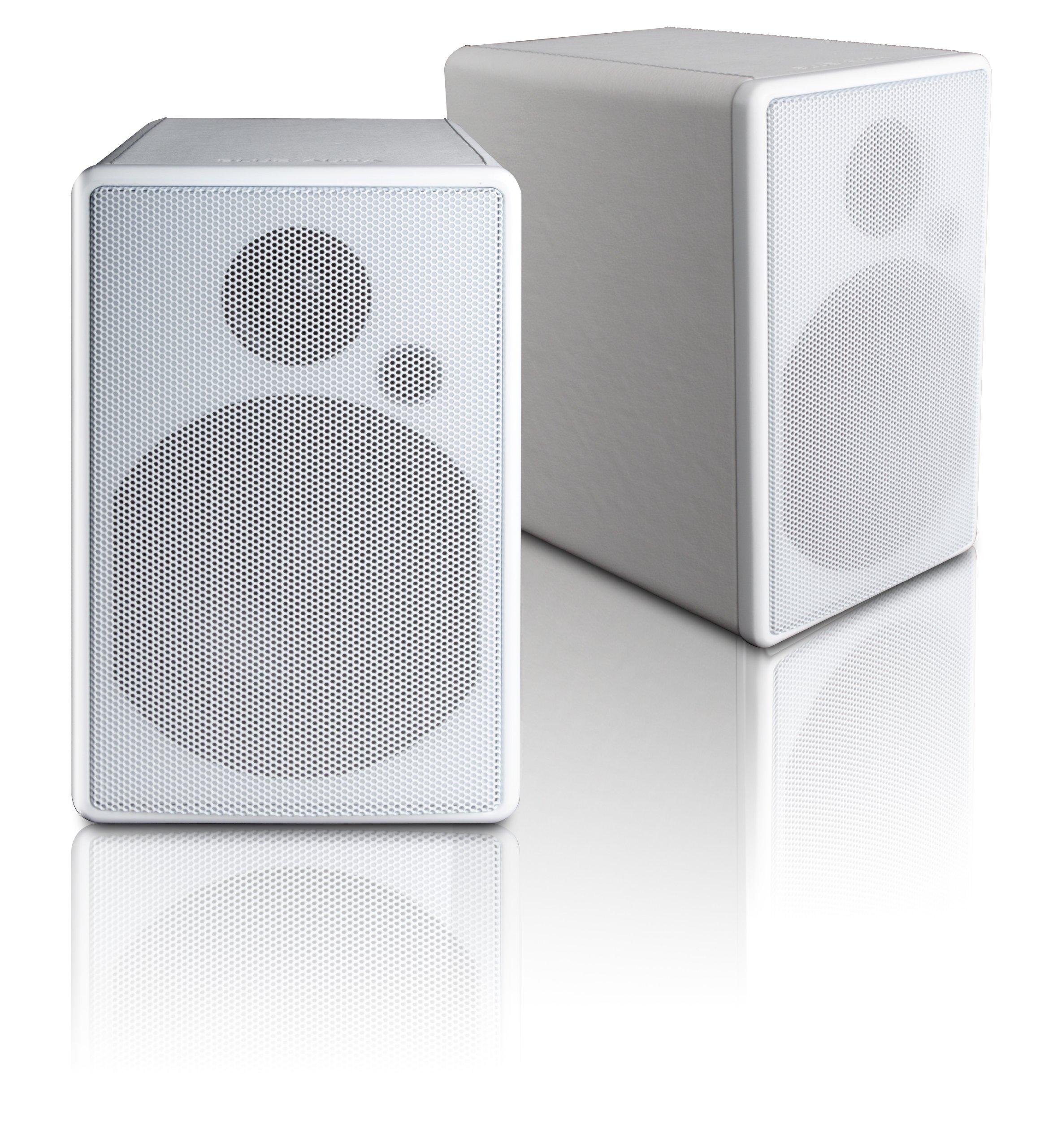 Blue Aura WS80i Wireless Active Loudspeakers (Pair, White)
