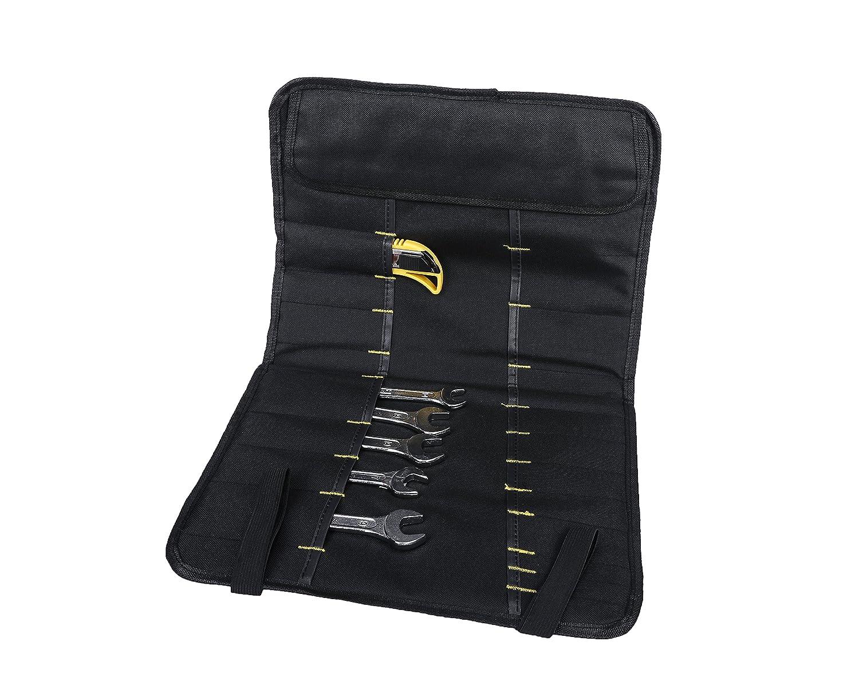 QEES 38/bolsillos Herramienta Rollo Bolsa de herramientas multiusos plegable port/átil llevar bolsa de lona gjb01 azul para electricistas//herramientas de jard/ín