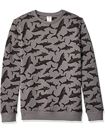35abc080f Amazon Essentials Boys' Crew Neck Sweatshirt