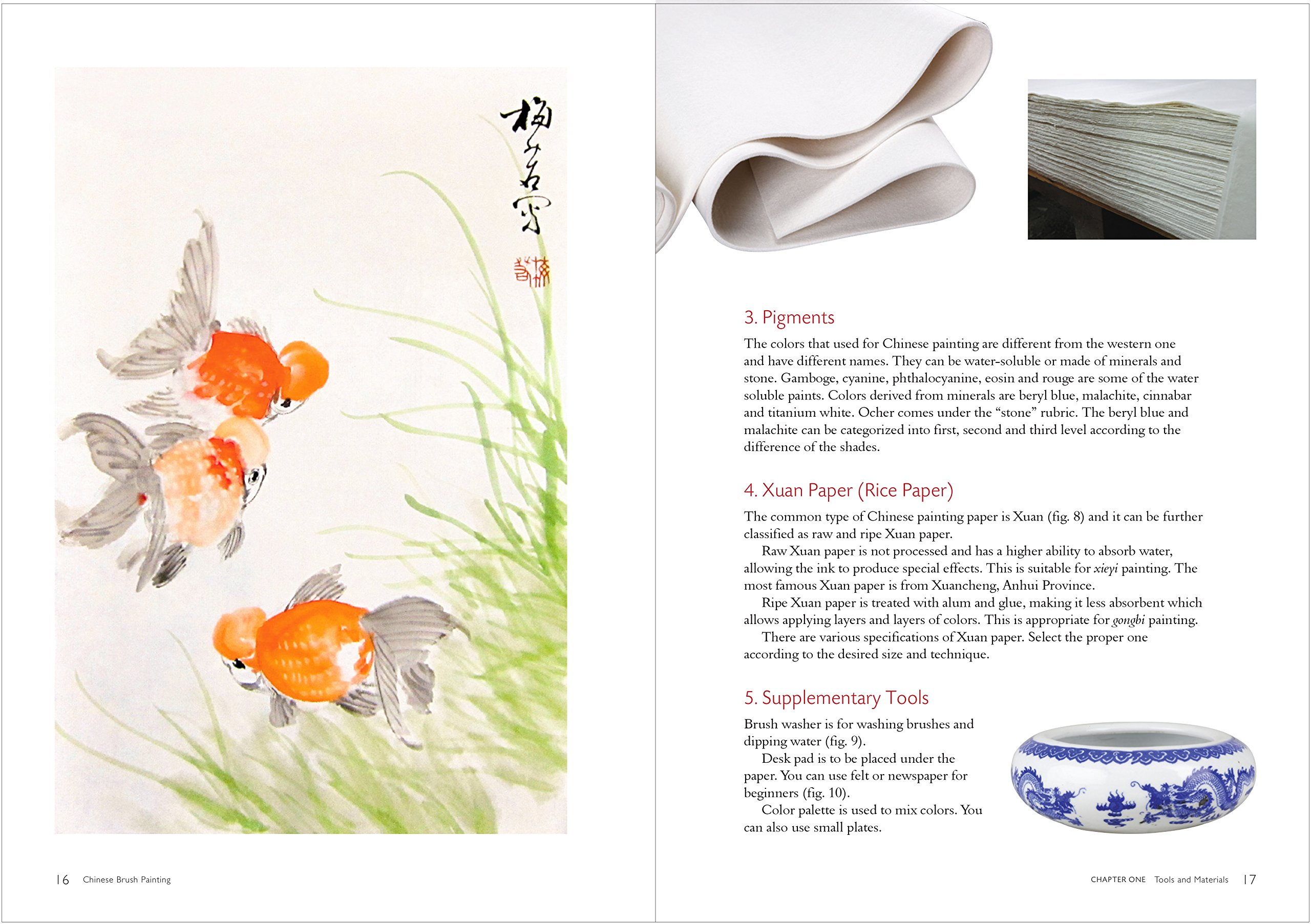 Chinese Brush Painting: A Beginner's Step-by-Step Guide: Mei Ruo:  9781602200340: Amazon.com: Books