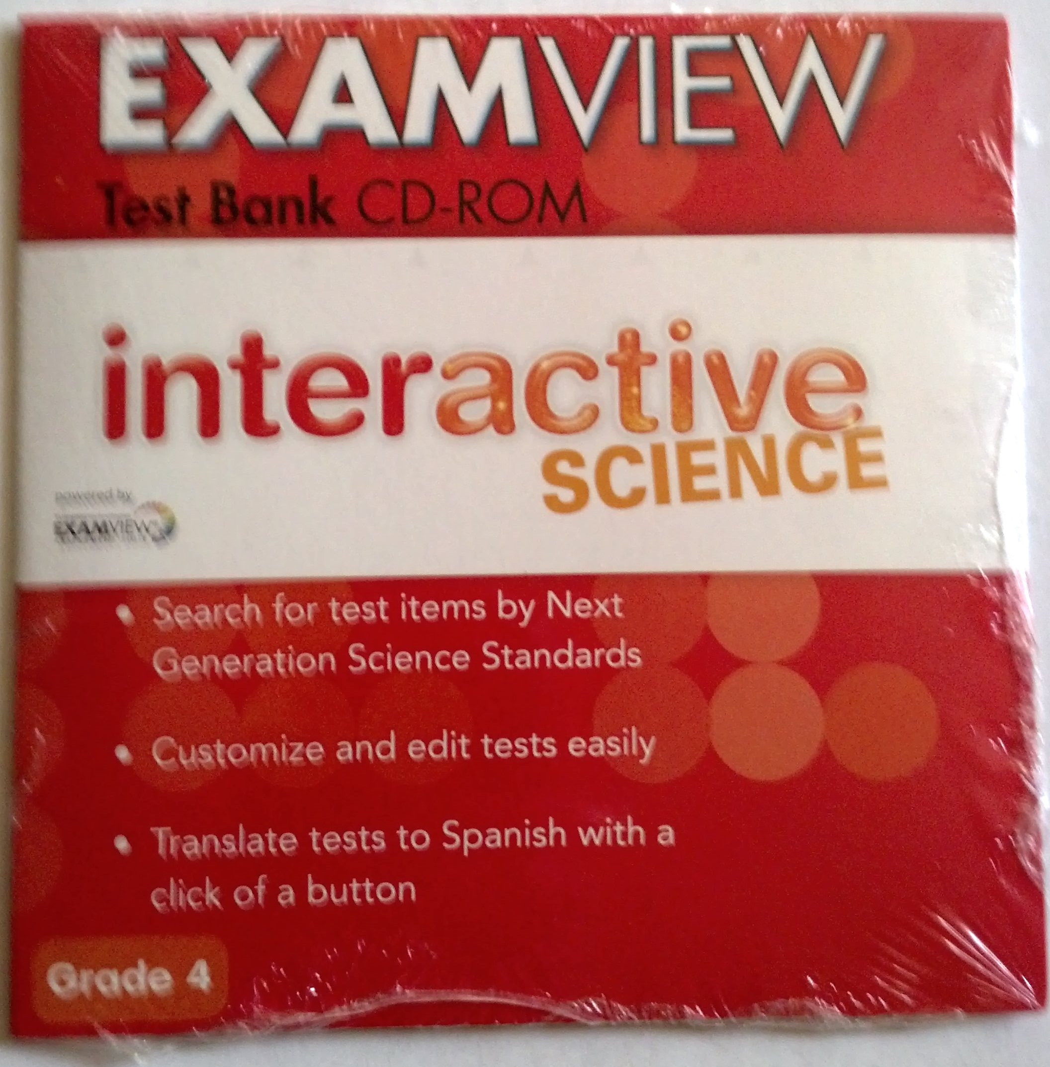 Interactive Science ExamView Test Bank CD-Rom Grade 4