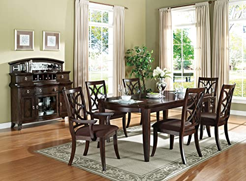 ACME 60255 Keenan Dining Table, Walnut Finish