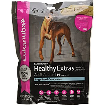 Amazon.com : EUKANUBA HEALTHY EXTRAS Adult Large Breed Dog