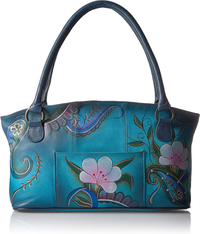 Anna by Anuschka Wide Tote Bag   Genuine Leather