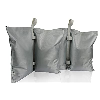GigaTent Canopy Sand Bags - Tent Weights for Instant Outdoor Sun Shelter, Pop Up Tent, Gazebo, Canopy, Party Tent - Easy to Use, Heavy Duty Strong Material - Sandbag Leg Weights Pack of 2: Clothing [5Bkhe0401756]