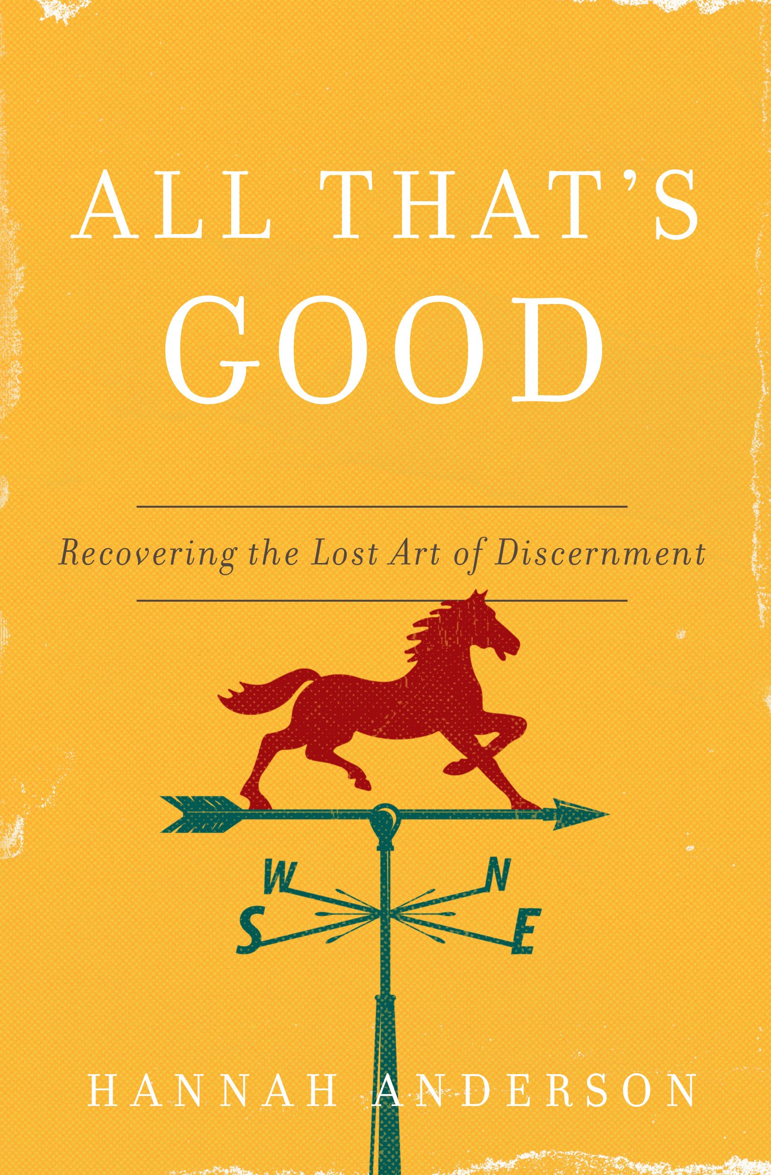All That's Good: Recovering the Lost Art of Discernment: Anderson, Hannah:  9780802418555: Books - Amazon.ca