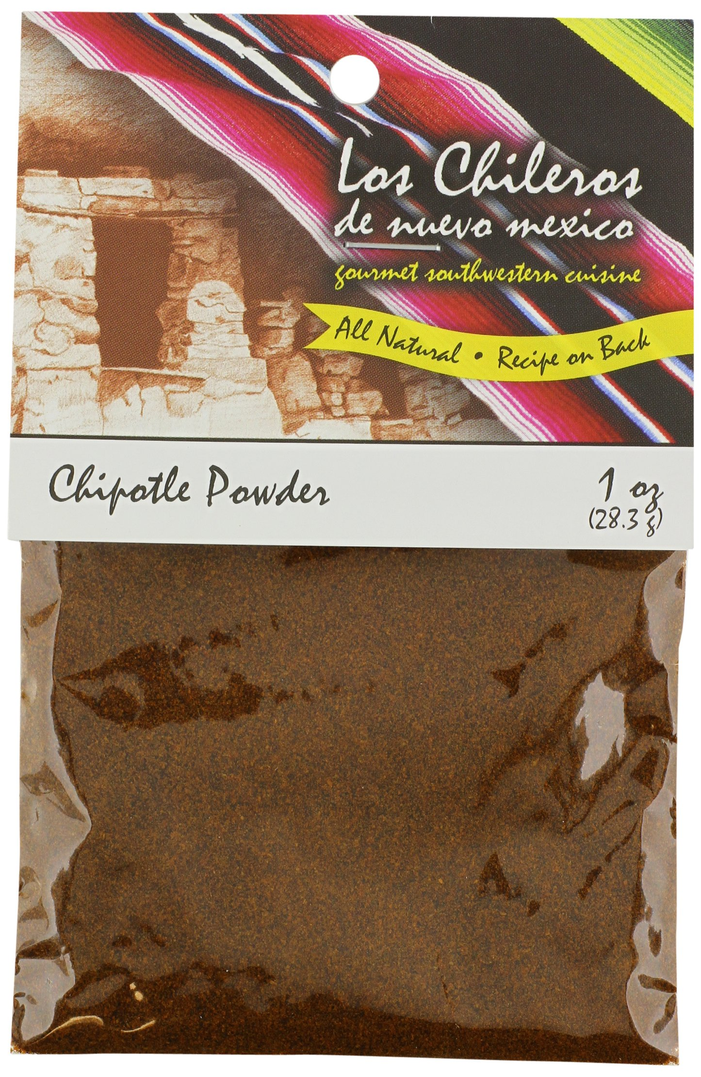Los Chileros Chipotle Powder, 1 Ounce (Pack of 12)