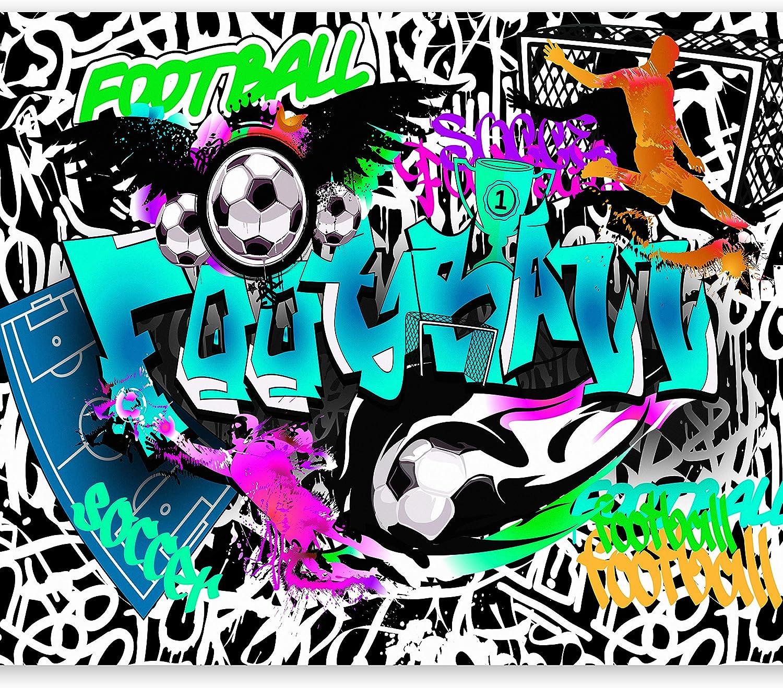 murando Papier peint intiss/é 100x70 cm D/écoration Murale XXL Poster Tableaux Muraux Tapisserie Photo Trompe loeil Graffiti 10110905-10