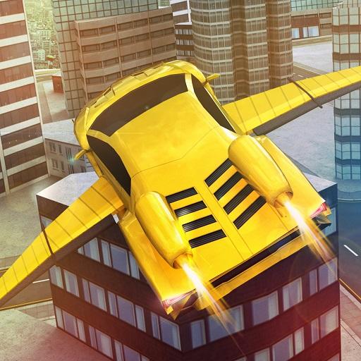 (Flying Racing Car Simulator)