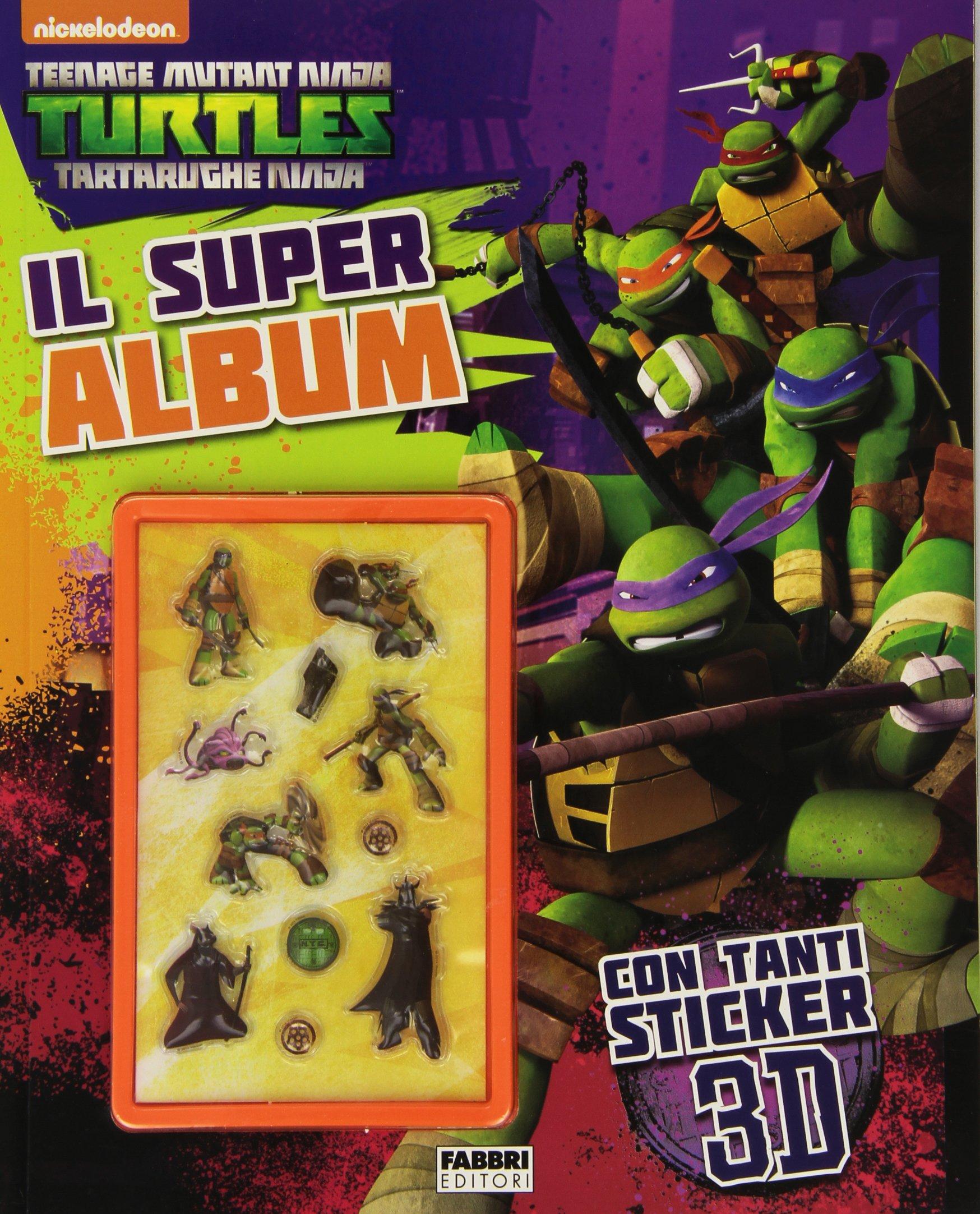 Il super album. Turtles Tartarughe Ninja. Con adesivi. Ediz ...
