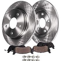 - 07-08 Saturn Aura - JL9 BRAKES 11.65 Front Disc Brake Rotors w//Ceramic Pads w//Hardware for 05-08 Chevy Cobalt SS - 04-07 Ion Redline 05-08 G6 08-10 HHR SS Detroit Axle - 04-07 Malibu Maxx -