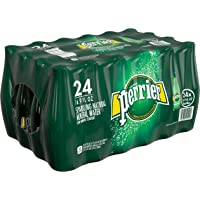 24-Pack Perrier Sparkling Natural Carbonated Mineral Water (16.9 Fl. Oz)