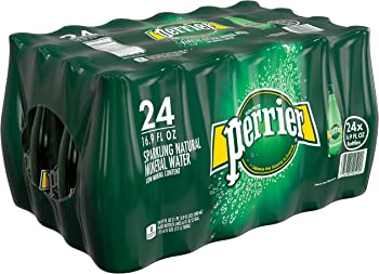 24-Pk. Perrier Sparkling Natural Carbonated Mineral Water