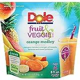 DOLE Fruit and Veggie Blends, Frozen Orange Medley, 16 Ounce Bag