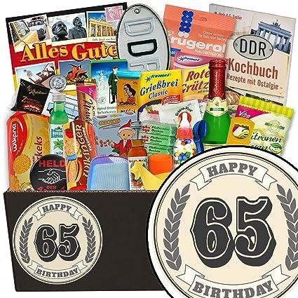 Geschenke 65 Geburtstag Frau 24er Ddr Paket Geschenk Zum 65