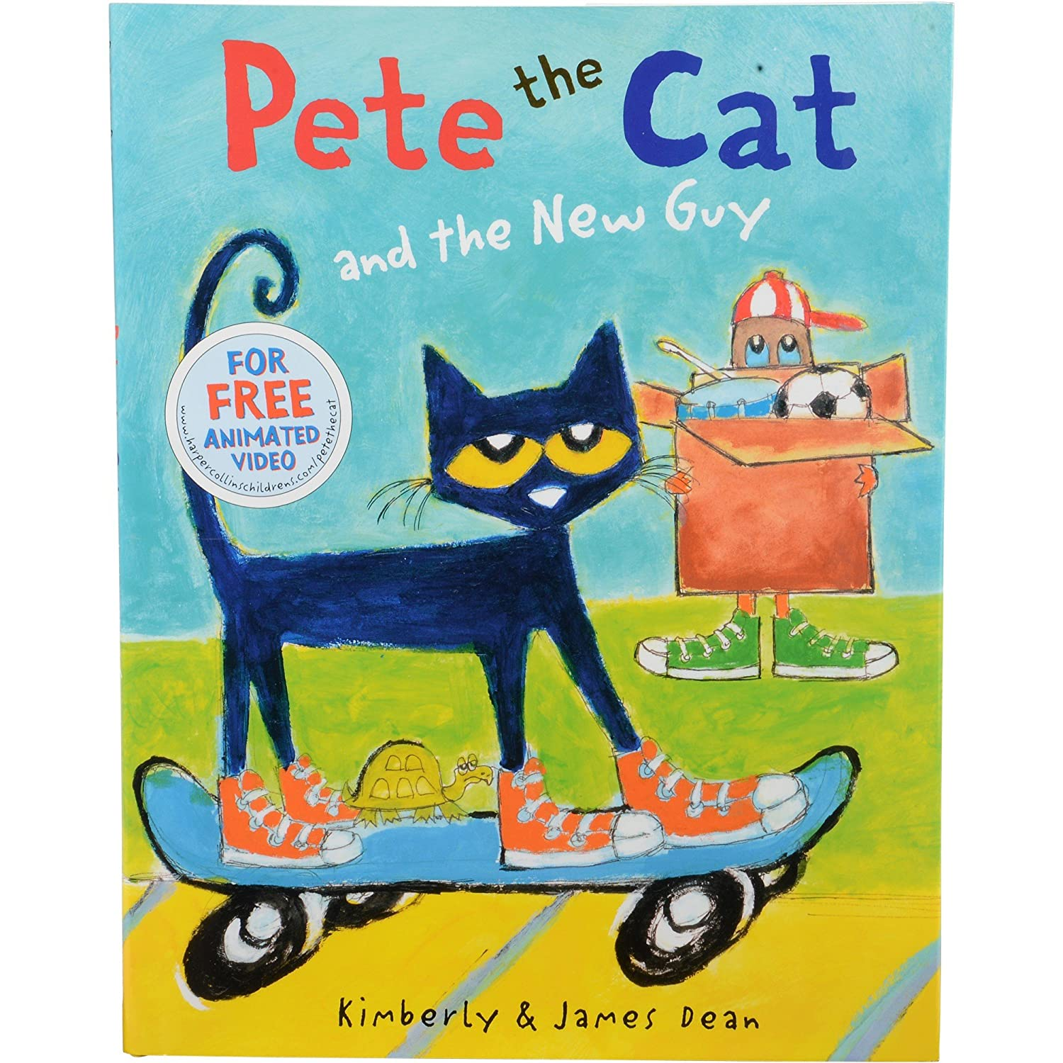 "Constructive Playthings HR-608""Pete The Cat and The New Guy ..."