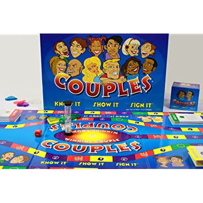 Couples - Know It, Show It, Sign It Board Game: Toys & Games