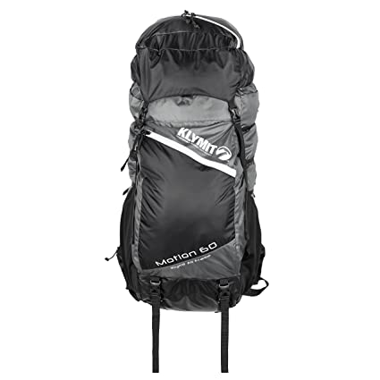 bb740c13d096 Amazon.com   KLYMIT Motion 60 Backpack, Grey Black, Medium Large ...