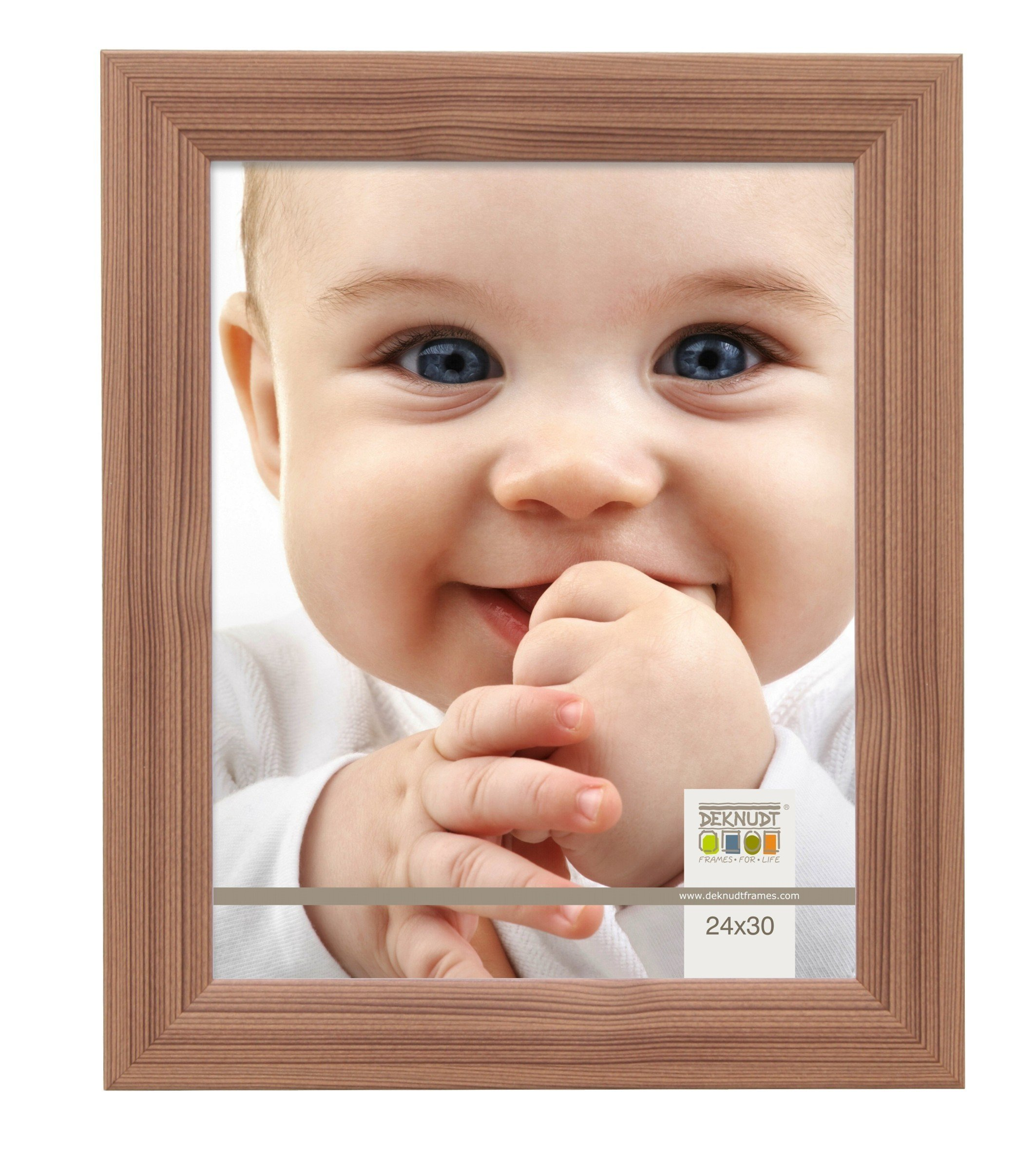 Deknudt Frames S53GH3 50x60 Photoframe Brown Wood