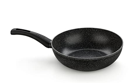 Amazon.com: Monix Cosmos Wok, 28 cm, with Non-Stick Stone Effect ...