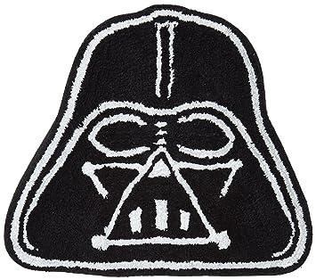 Charming Star Wars Saga Vader Shaped Bath Rug