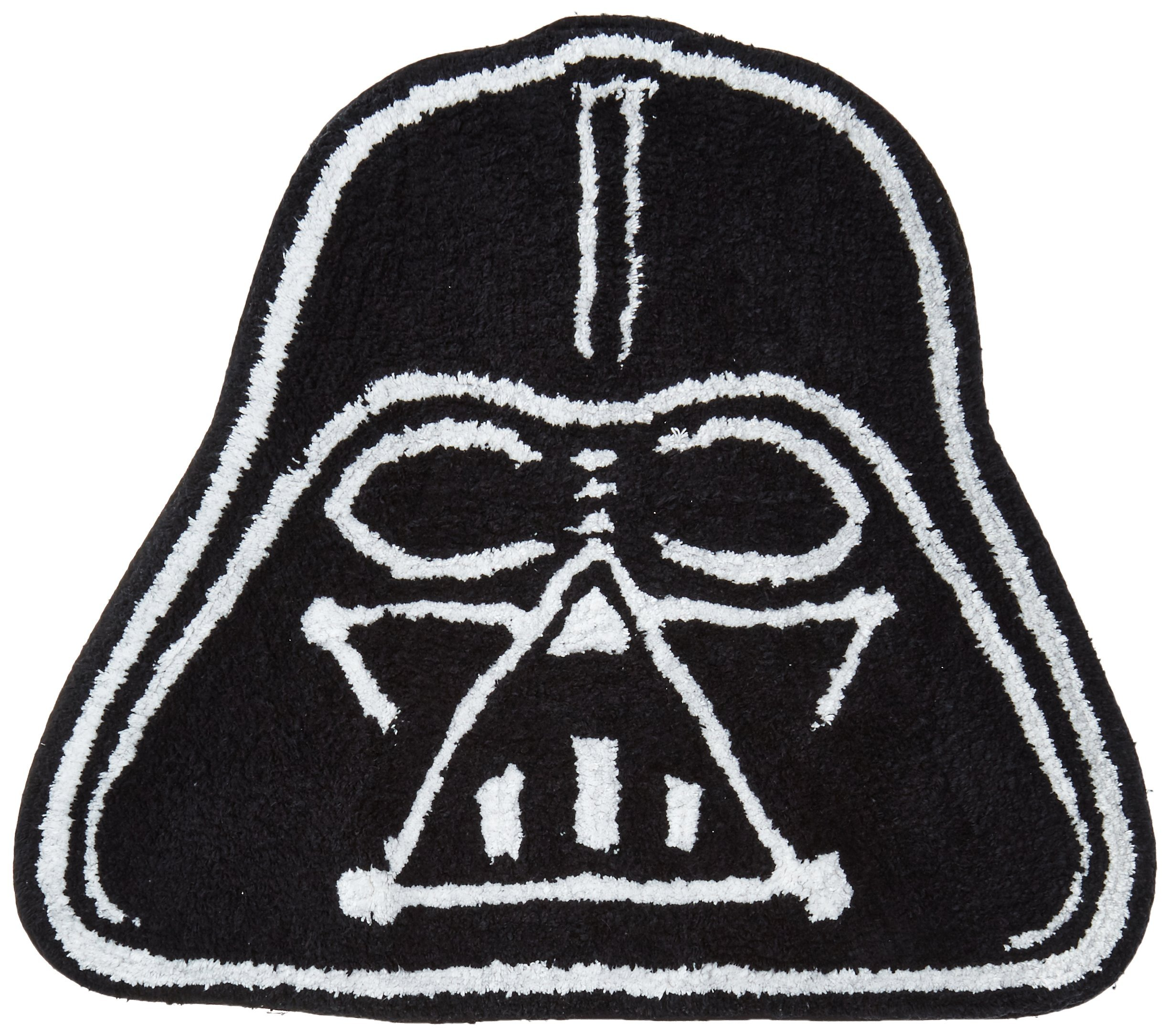 Lucas Film Star Wars Saga Vader Shaped Bath Rug