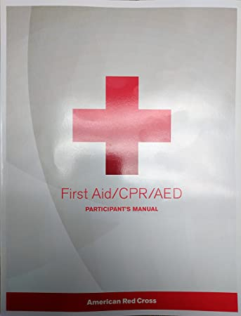 amazon com heartsaver first aid cpr aed instructor manual by aha rh amazon com YMCA Lifeguard Certification Red Cross Lifeguard Book