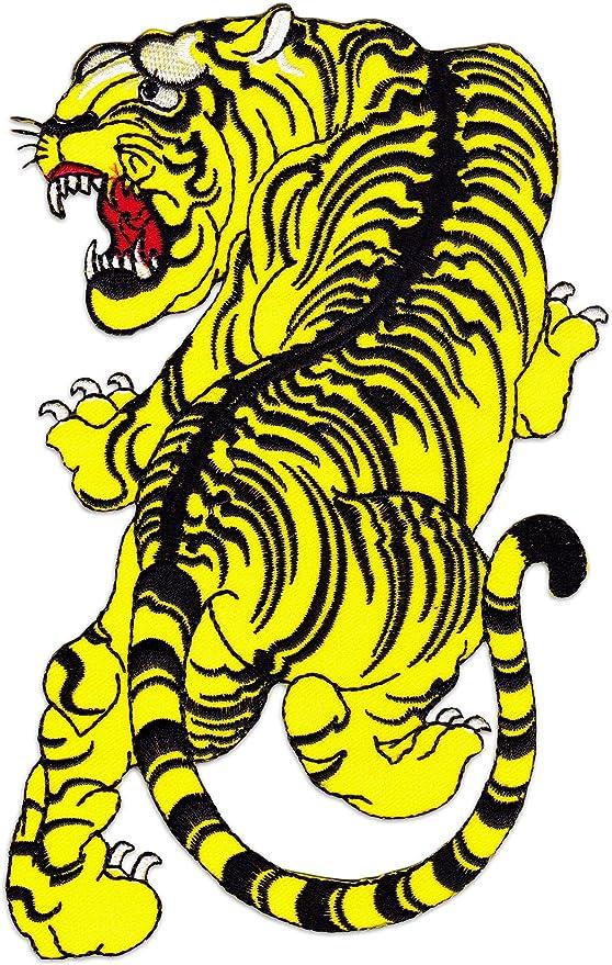 Wakapu Siam Tiger Parche para planchar sobre coser bordado ...