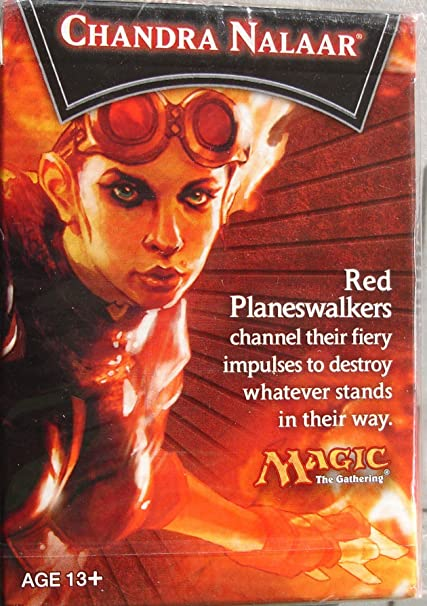Chandra Nalaar 30-card Deck and Quick Start Guide Magic the Gathering
