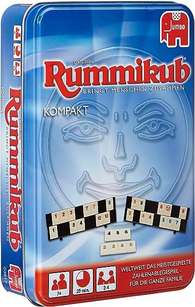 Jumbo 03817 - Juego de Mesa Rummikub (edición Premium Compact ...