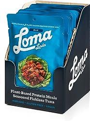 Loma Linda Blue - Vegan Meal Solution - Thai Sweet Chili Fishless Tuna (3 oz.) (Pack of 12) - Non-GMO, Gluten Free