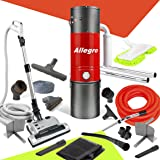 Allegro MU4500Champion - 6,000Square Foot Home Central Vacuum System 30 Foot Electric Hose