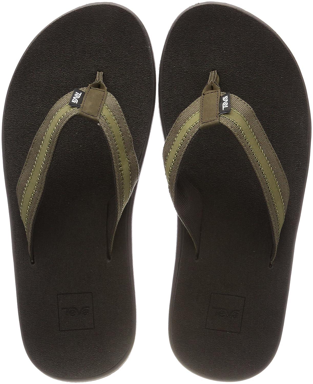 40f996213f3c4 Teva Men s M Voya Canvas Flip Flops  Amazon.co.uk  Shoes   Bags