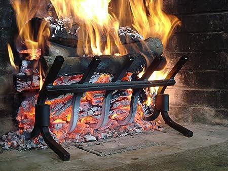 Amazon.com: Model S-5 High Efficiency Smoke-Free Fireplace Grate ...