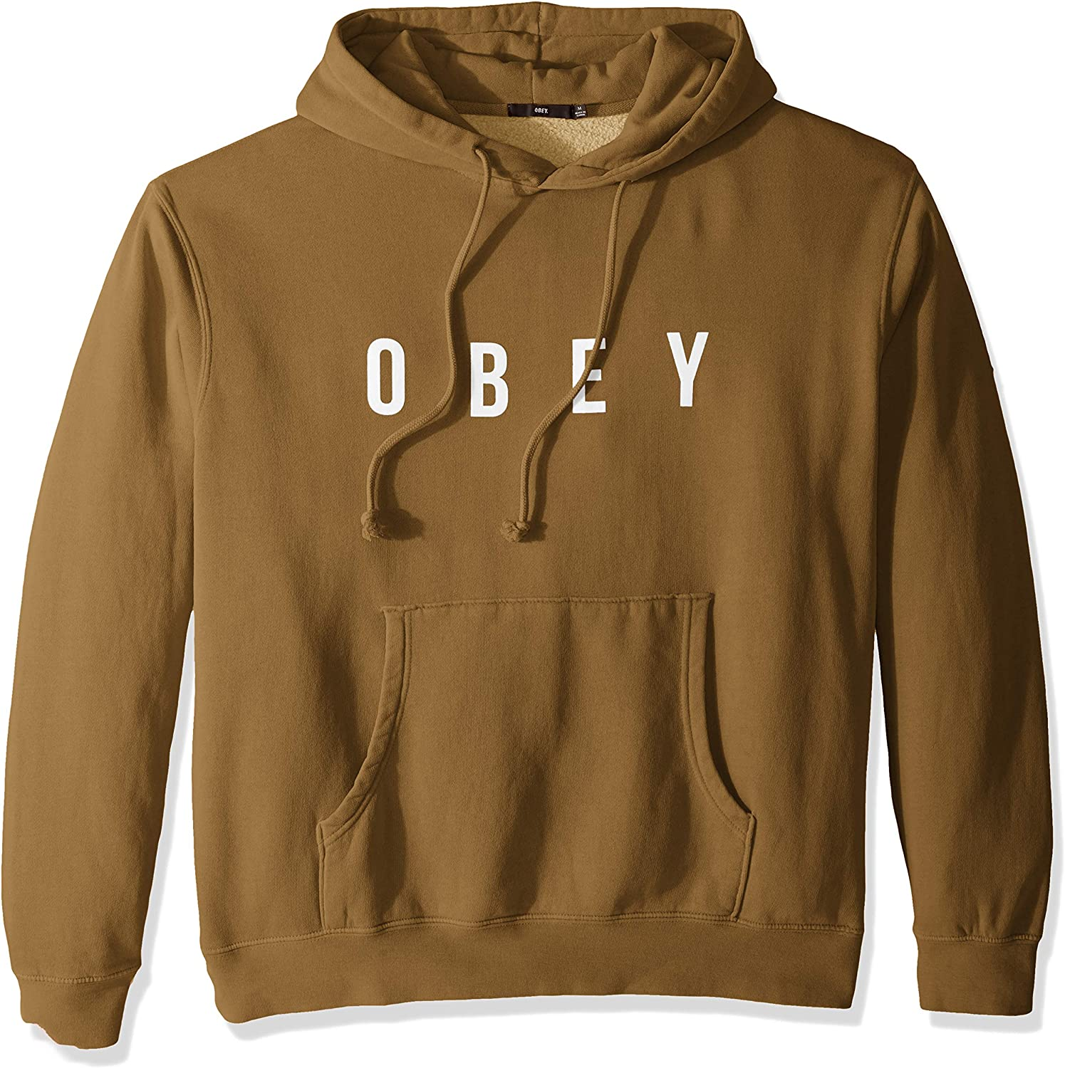 Obey Men/'s Anyway Hooded Pigment Fleece Sweatshirt Choose SZ//color