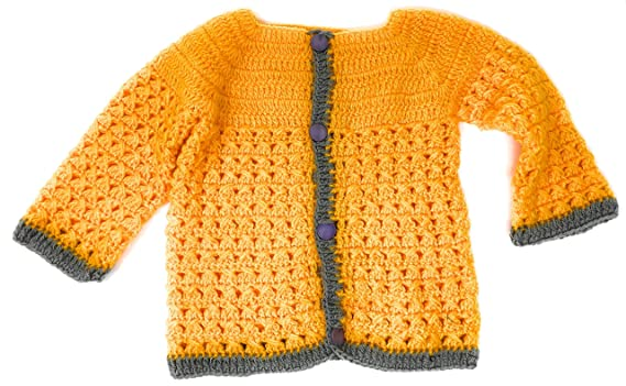 db702218a6a9 Amazon.com  Hand Made 3 Piece Knitted My Little Tiger Crochet Set ...