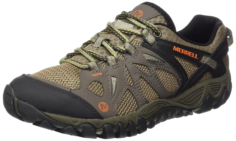 Merrell Men's All Out Blaze Aero Sport Hiking Water Shoe B00YB5NI22 8 D(M) US|Khaki