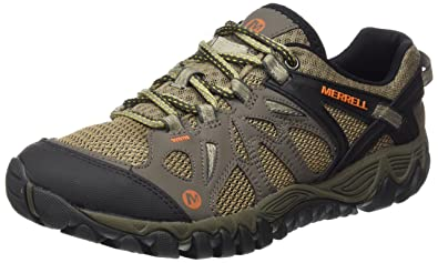 Merrell Men's All Out Blaze Aero Sport Hiking Water Shoe, Khaki, ...